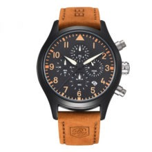 Fashion Casual Water Resistant Men's Wristwatch