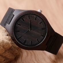 Stylish Casual Quartz Natural Wood Wristwatch